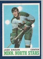 JUDE DROUIN 70-71 O-PEE-CHEE 1970-71 NO 171 EXMINT++