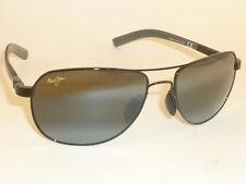New Authentic Polarized  MAUI JIM  GUARDRAILS  Sunglasses  327-02  Black Frame