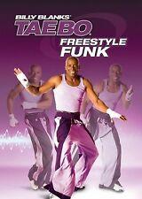 Bily Blanks - FREESTYLE FUNK (DVD) workout tae bo taebo hip hop steps NEW