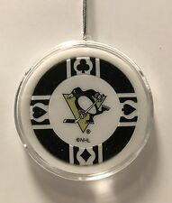 Pittsburgh Penguins Chip Christmas Tree Hanging Ornament Holiday NHL Hockey