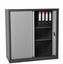 Tambour Door Cabinet Half Height Tambour door Stationery Storage Cupboard