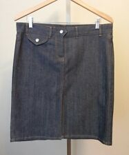 French Connection Blue Denim Jean Skirt Size 10