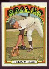 1972 TOPPS FELIX MILLAN CARD NO:540 NEAR MINT CONDITION