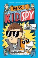 Complete Set Series - Lot of 5 Mac B., Kid Spy books by Mac Barnett