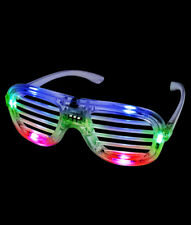 Fun Central-  Multicolor LED Slotted Shades . Pack of 1 .