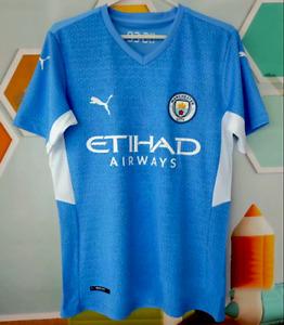 Manchester City Home Shirt 2021/22 Football Jersey Newest Adult Football Shirt