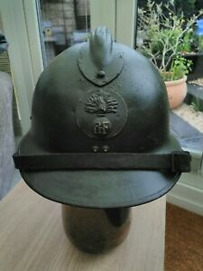 """WW2 French M26 """"Adrian""""  Helmet"""