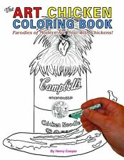 Art Chicken Coloring Book, The, Cooper, Henry, New Book