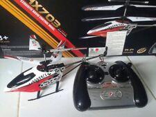 RC HX703 V-MAX 3.5CH ALLOY Helicopter Radio Remote Control Micro Aircraft Kids