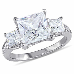 Amour Sterling Silver Cubic Zirconia Engagement-style Ring