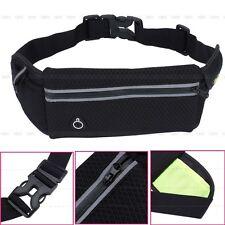 Unisex Waterproof Travel Running Jogging Cycling Waist Belt Bag Cell-Phone Pouch