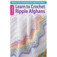 Leisure Arts Learn to Crochet Ripple Afghans Book