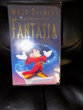 Fantasia (VHS, 1991) FINAL RELEASE OF MICKEY MOUSE EUC HTF FREE USA SHIPPING