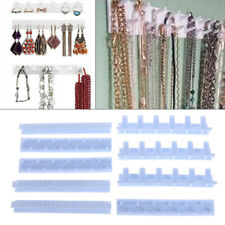 9 In 1 Wall Hanging Jewelry Hooks Display Organizer Earring Necklace Ring Hol Wr