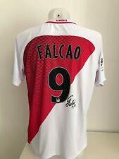 maglia calcio AS Monaco 9 Falcao fedcom autografata signs  shirt rare soccer