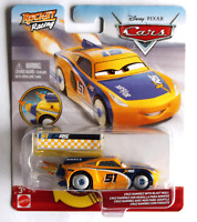 Disney Pixar Cars Rocket Racing Cruz Ramirez with Blast Wall, NEW