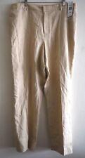 New Lauren Ralph Lauren 100% Linen Pants Cream Size 20W Lined $139