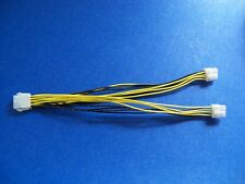 EPS 8 PIN Y SPLITTER CABLE ---10INCHES   MADE IN AMERICA