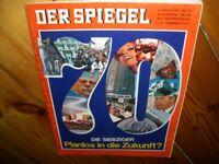 Zeitschrift Der Spiegel  5. Januar 1970 Die Siebziger - Planlos in die Zukunft?
