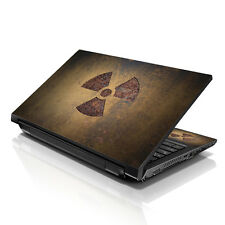 "13.3"" 15.6"" 16"" Laptop Skin Sticker Notebook Decal Nuclear Sign M-6891"