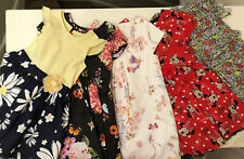 5 Dresses By Next, George & Nutmeg Inc Disney Minnie Mouse Age 3-4 Yrs Exc Cond