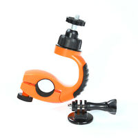 360° Bike MTB Handlebar Clamp Clip Holder Mount+Screw Tripod f Gopro Hero 4 3