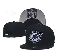 New Era Basic 9FIFTY NFL  Miami Dolphins  Snapback Hat - Black/White