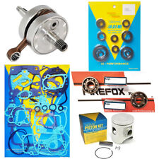 Honda CR125 '00-'02 53.96mm Mitaka Engine Rebuild Kit Inc Crank Piston Gaskets
