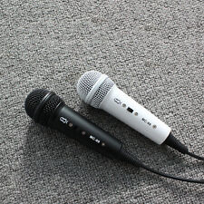 Mini Karaoke Microphone Mic. Wired For PC Computer Skype Gamer Study Samrtphone