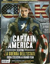 Ciao 2011 6.CAPTAIN AMERICA,LUCA ARGENTERO-NABIHA AKKARI,PAUL BETTANY,X-MEN