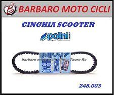 CINGHIA POLINI 248003 MINARELLI YAMAHA BWS AEROX SLIDER NEOS WHY JOG SPY BW'S 50