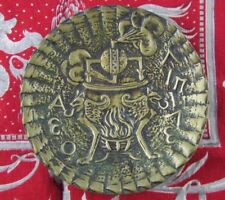ancien vide poche coupe en bronze par le verrier rateau art deco