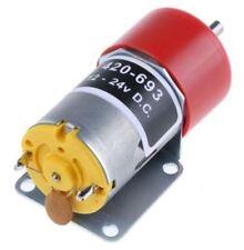 RS Pro, 12 V, 12 â?? 24 V dc, 1200 gcm, Brushed DC Geared Motor, Output Speed 27