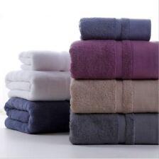 Pure 100% Cotton Hand Bathroom Towel Set Gift Jumbo Sheet Bale Set Towels Solid