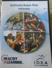 California Beach Ride Spinning Workout DVD Exercise Fitness Sandy Blumberg Cycle