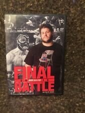 ROH Final Battle 2010 WWE Ring Of Honor DVD Rare Kevin Owens Steen NXT Generico