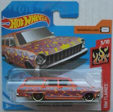 Hot Wheels 1964 Chevy Chevrolet Nova Station Wagon orange Flammen Neu/OVP HW ´64