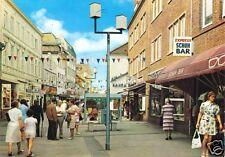 AK, Elmshorn, Königstr., belebt, um 1976