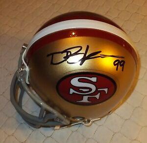 DEFOREST BUCKNER SF 49ers Autographed Mini Helmet Including Beckett COA #L50276