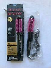 "Revlon Pro Collection Salon Long Lasting Volume 1"" Barrel Heated Silicone Brush"