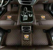 Fit  2008-2013 Cadillac CTS  Coffe  Waterproof Car Floor Mats Pad