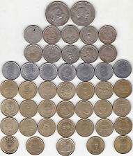 REPUBLIC INDIA 5 RS FIVE RUPEES 45 ALL DIFFERENT COMMEMORATIVE COINS