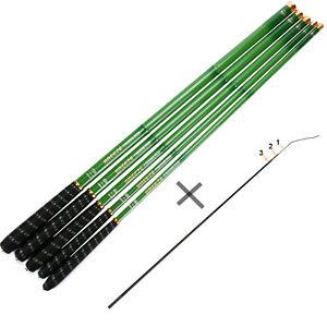Goture Telescopic Fishing Rod Stream Carp Carbon Fiber Hand Pole 3.6M-7.2M