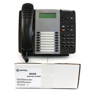 Mitel 8528 LCD Display Digital Phone - Refurbished Bulk