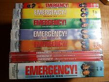 Emergency The Complete Series, 1-6 + The Final Rescues,DVD,FREE SHIPPING, NEW.