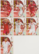 Panini Adrenalyn XL World Cup Russia 2018 Lot 7 cartes équipe TUNISIE