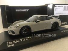 Minichamps 1/43 Porsche 911 (991) Gt3 Coupè 2017 Light Grey Art.410066026