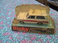 Vintage Dinky Toys 254 Police Range Rover