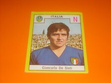FIGURINE STICKERS ALBUM CALCIATORI RELI' 1969-70 ITALIA DE SISTI NEW-MAX