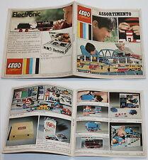 LEGO VINTAGE 036 Mini Cataloghino con clip System Assortimento anni 60 13,8x13,6